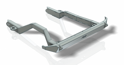New Product: Jeep JK Rear Frame Chop Bumper with Cross Member