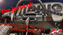 Video - The Jeep Lab Installs the Motobilt Tomahawk Frame Chop Bumper