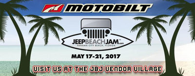 Come visit Motobilt at Jeep Beach Jam May 17-21