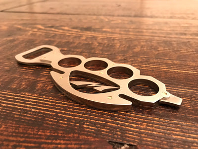 Brass Knuckle Bottle Opener
