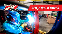 Video - Motobilt Red JL Build Part 4 - Cages and Axles!