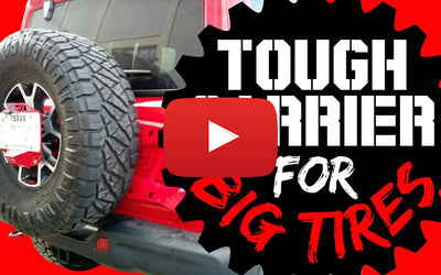 Video: Exodus 4x4 Reviews and Installs the Motobilt Spare Tire Carrier for Jeep JL