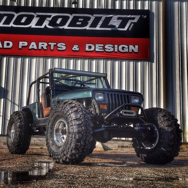 Project Green YJ Customer YJ Build