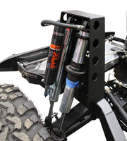 Dual Rear Coilover Bypass Shock Towers - Motobilt