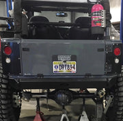 Frame Chop Rear Bumper and Cross member for Jeep JK / JKU - Motobilt