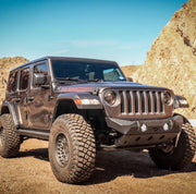 Hammer Series Front Bumper w/ Fog Mounts and Skid Plate for Jeep JL / JT Gladiator - Motobilt