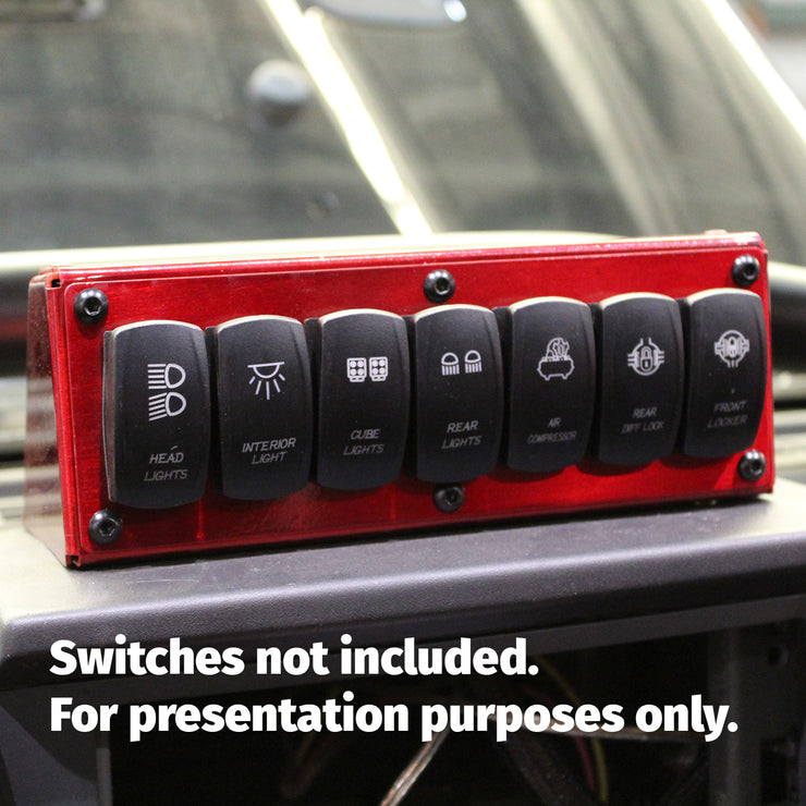 Switch Panel, Top Surface Mounted - Motobilt