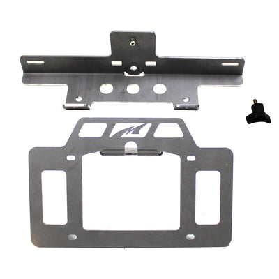 License Plate Relocator/Light Mount for JK-JL - Motobilt