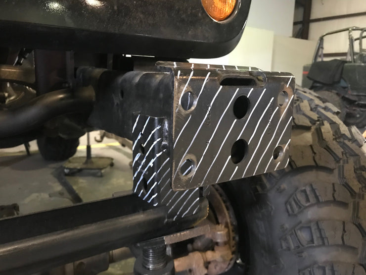 Hatchet Series Front Frame Chop Bumper w/Fog Mounts for Jeep JK / JKU - Motobilt