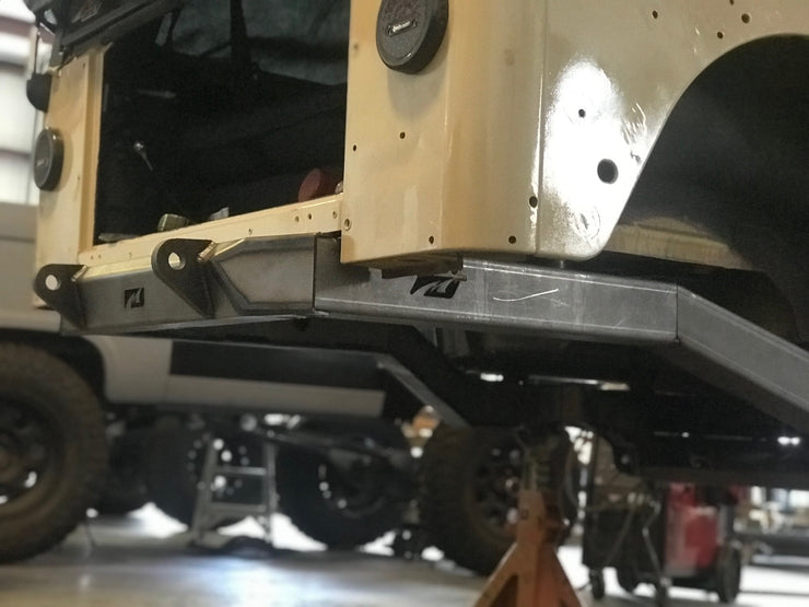 Back Half Frame Kit for Jeep TJ - Motobilt
