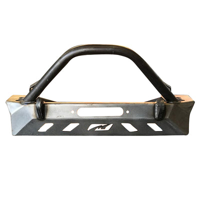 Crusher Series Front Bumper w/ Bull Bar for Jeep YJ / TJ /LJ - Motobilt