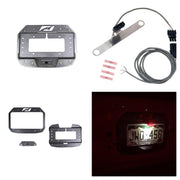 Spare Tire Delete Tag Mount / Tag Light Combo for Jeep JL / JLU - Motobilt