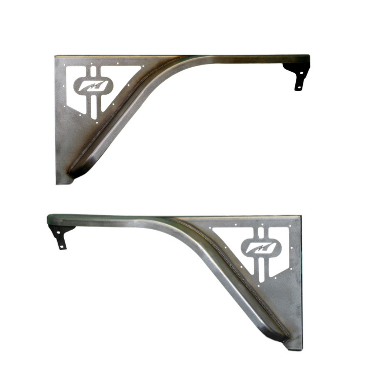 Flat Fender Set with 4 inch Flare NO Inner Fender for Jeep TJ / LJ - Motobilt