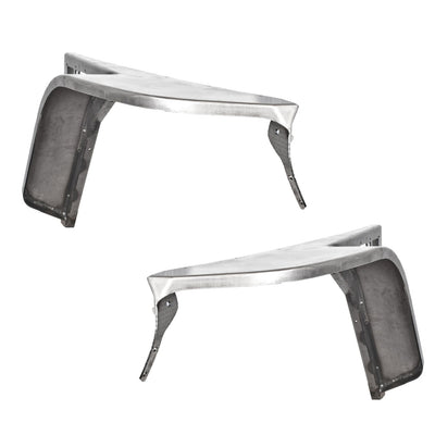 High Line Flat Fender Set with 6 inch Flare NO Inner Fender for Jeep TJ / LJ - Motobilt