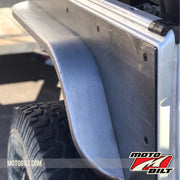 Fender Flares for Rear Comp Cut - fits Jeep YJ/TJ/CJ - Motobilt
