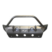 Hammer Front Bumper w/ Bull Bar, Fog Mounts & Skid Plate for Jeep JL / JT - Motobilt