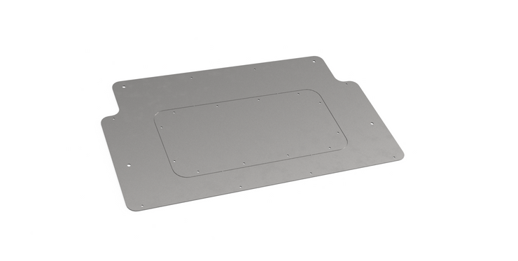 Rear Mount Fuel Cell Access Hatch for Jeep JL - Motobilt