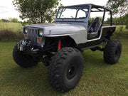 Comp Cut Rocker Guards for Jeep YJ - Motobilt