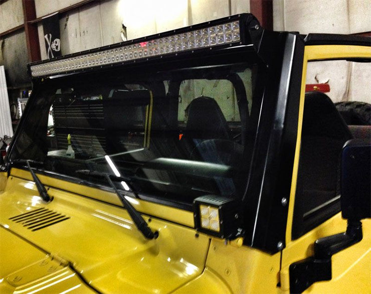 "50"" LED Light Bar Mount for Jeep TJ / LJ - Motobilt"