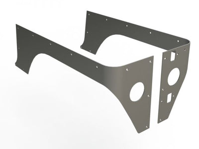 Comp Cut Corner Guards for Jeep TJ - Motobilt