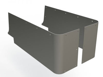 Blank Corner Guards for Jeep CJ YJ TJ - Motobilt