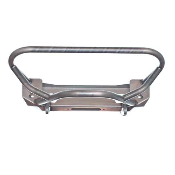 Crusher Series Front Bumper w/ Grill Hoop & Stinger for Jeep YJ / TJ /LJ - Motobilt