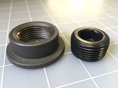 Weld In Fill Bung Kit Steel - Motobilt