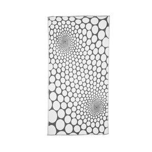 Load image into Gallery viewer, Bubbles - Grey & White Peshtemal