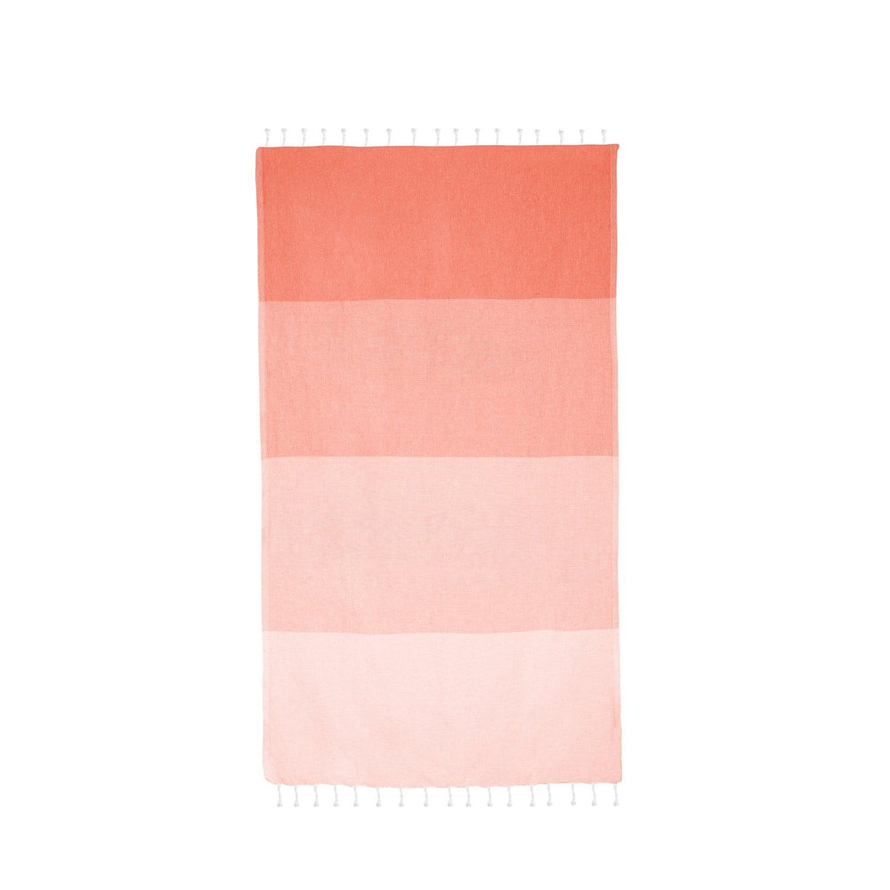 Load image into Gallery viewer, Dune - Coral Hammam Towel