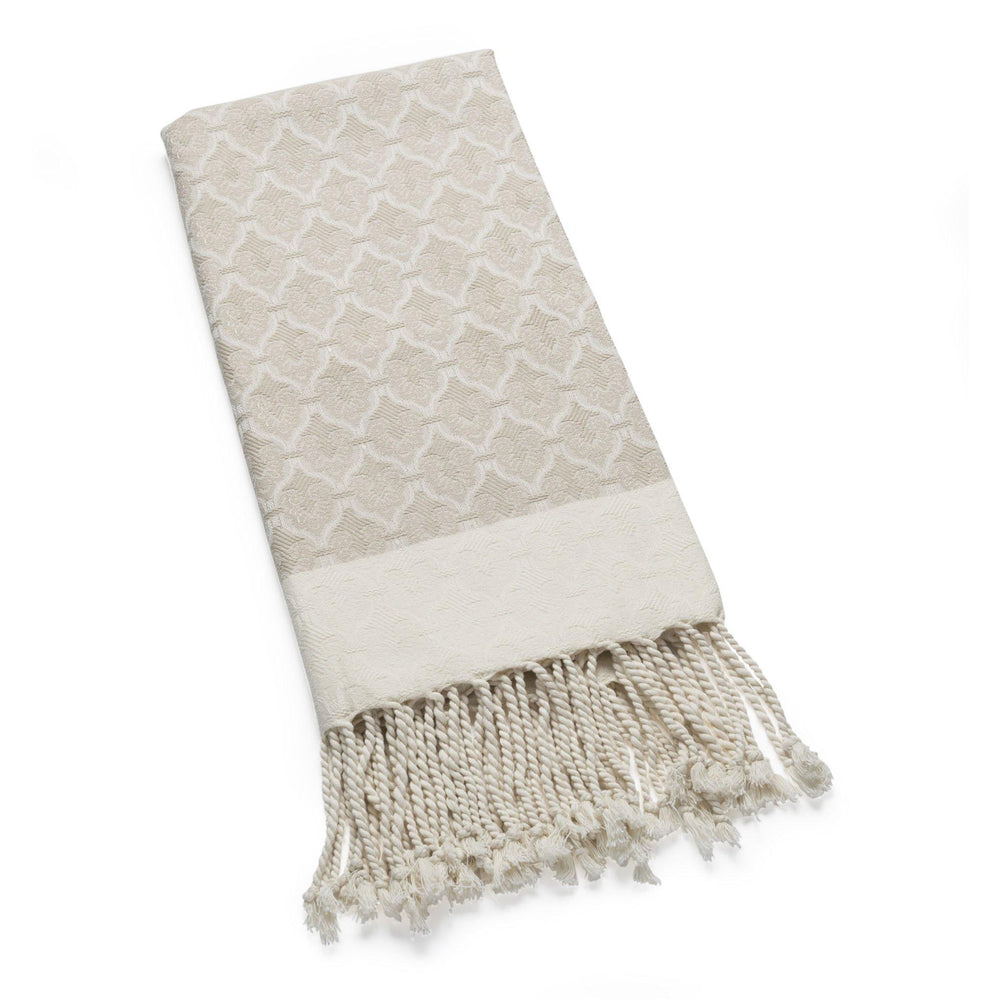 The Ottoman - Parchment Organic Cotton Throw