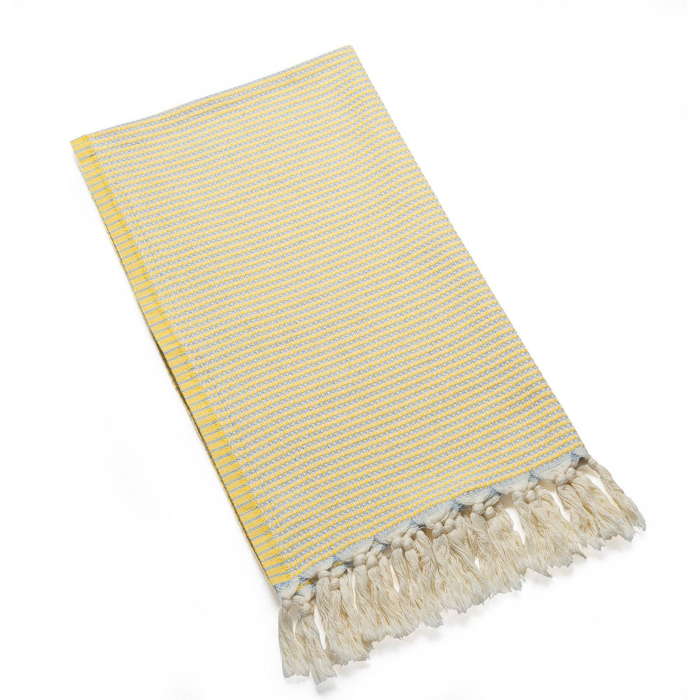 Marmara - Cornfield Yellow Organic Cotton Hair Towel