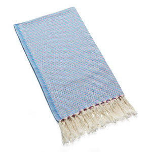 Marmara - Sky Blue Organic Cotton Hair Towel Towels