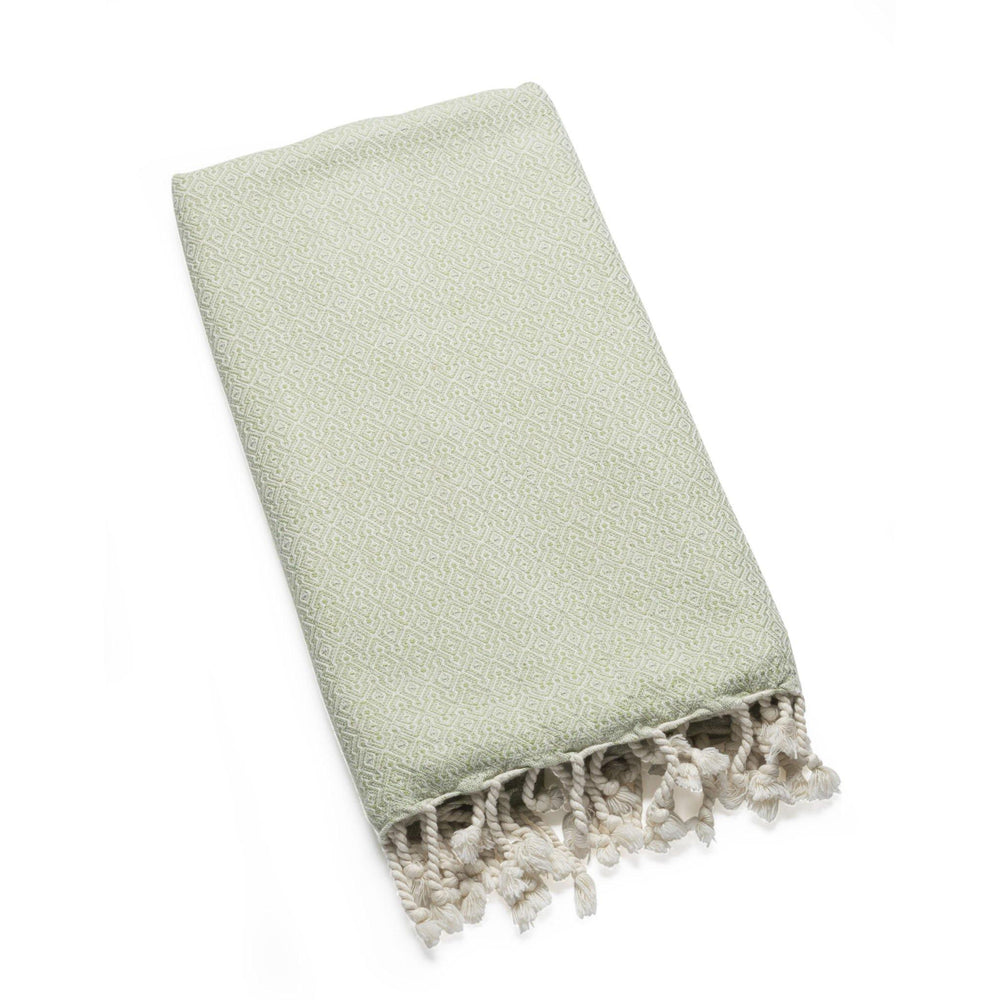 Mirab - Olive Organic Cotton Throw