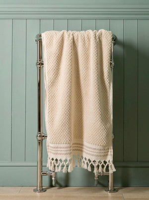 Classic Square - Ecru Organic Cotton Towel Collection