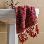 Nebula - Chilli Pepper Red Organic Towel