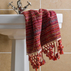 Nebula - Chilli Pepper Red Organic Bath Towel Limited Edition Colours