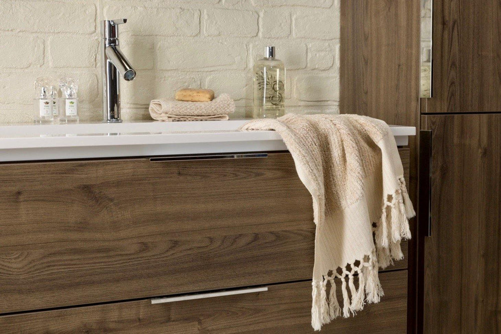 Natural Linen Bath Towel Collection