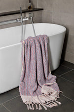 Dune - Coral Organic Organic Cotton Towels