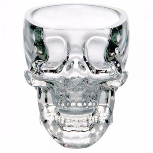 Open Skull Shot Glass