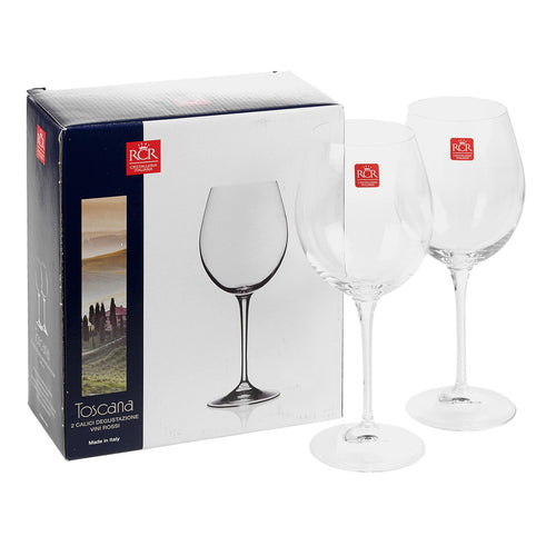 Toscana Red Wine Tasting Glasses