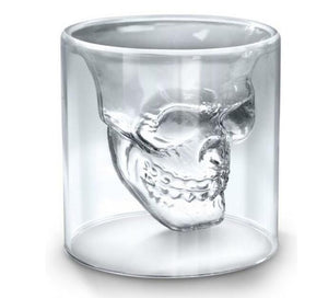 Skull Impression Glass