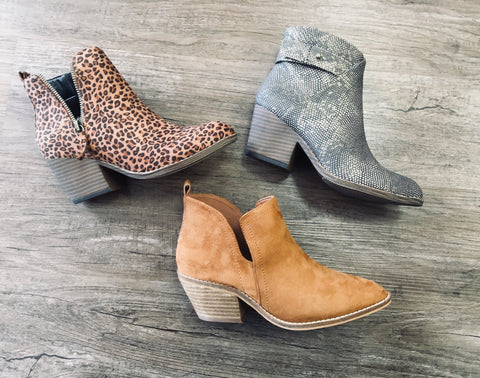 Tombstone Small Leopard Bootie