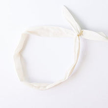 Wire Headband - Cream