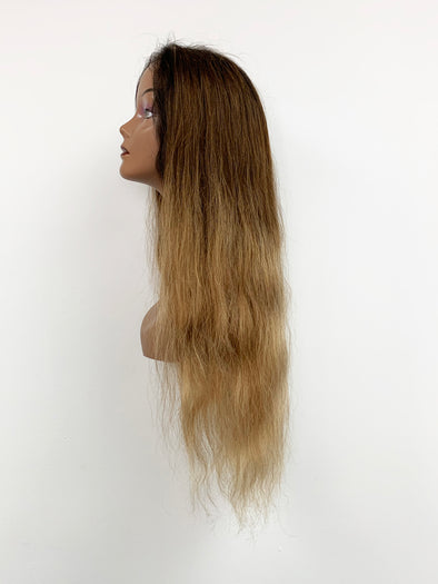 Body Wave Full Lace Wig - Gold Ombre