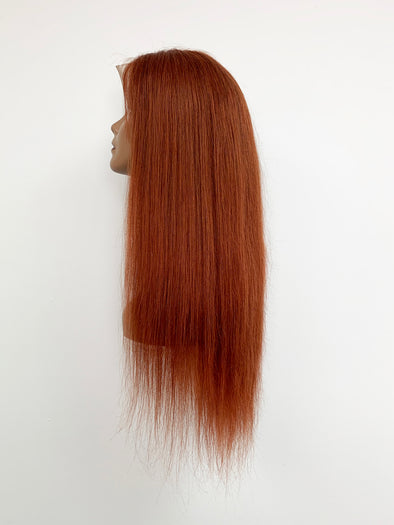 Silky Straight Full Lace Wig - Copper