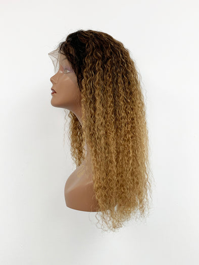 Bohemian Full Lace Wig - Gold Ombre