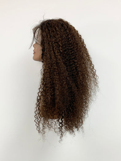 Bohemian Full Lace Wig - Chocolate Ombre