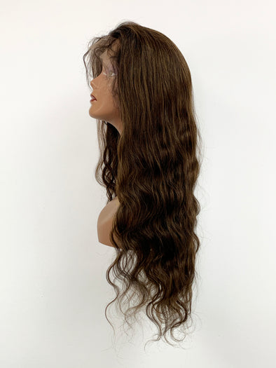 Body Wave Full Lace Wig - Chocolate Ombre