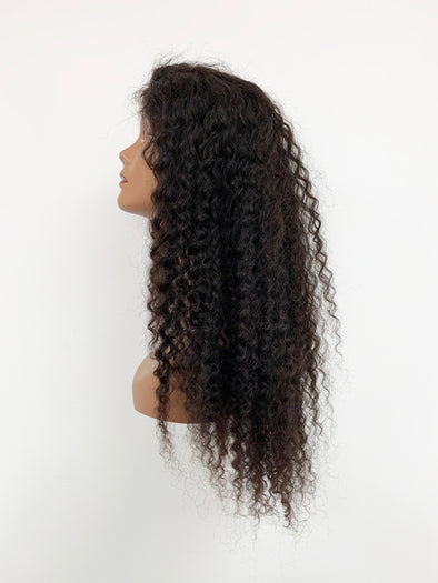 Pineapple Curl Full Lace Wig - Natural