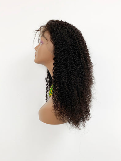 Afro Kinky Full Lace Wig Natural